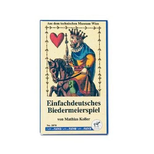 Hrací karty Einfachdeutsches Biedermeierspiel