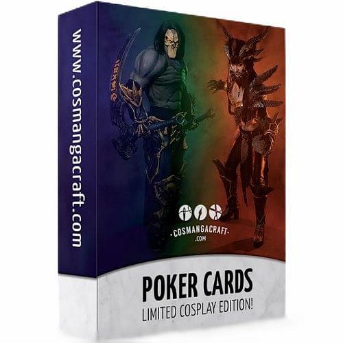 Cosplay hrací karty Poker