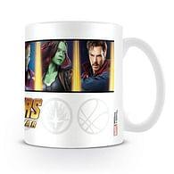 Hrnek Avengers: Infinity War - Characters & Emblems