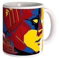 Hrnek Captain Marvel - Carol & Goose