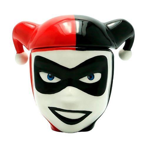 CurePink Keramický hrnek Harley Quinn DC Comics 350 ml