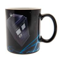 Hrnek Doctor Who - TARDIS, měnící se