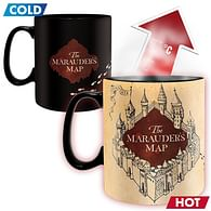 Hrnek Harry Potter Marauders map - měnící se