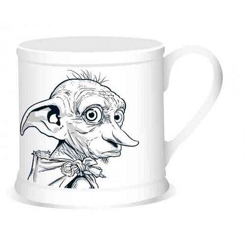 CurePink Vintage keramický hrnek Harry Potter: Dobby MUGVHP01 350 ml