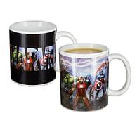Hrnek Marvel Avengers, měnící se