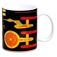 Hrnek Star Trek - Starship