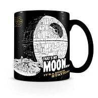 Hrnek Star Wars - That's No Moon, měnící se