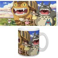 Hrnek Studio Ghibli - Kočkobus a Totoro