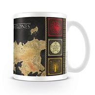 Hrnek Game of Thrones Map - poškozeno
