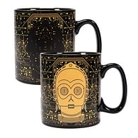 Hrnek Star Wars - C-3PO, měnící se