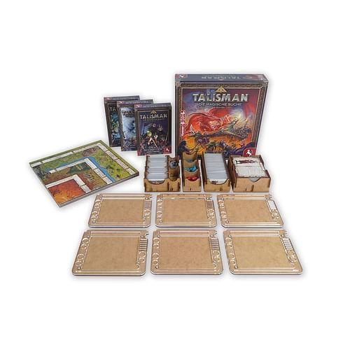 Insert na herní komponenty Talisman, rozšíření a 6x stojan