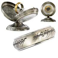 Jeden prsten II - stříbrná barva