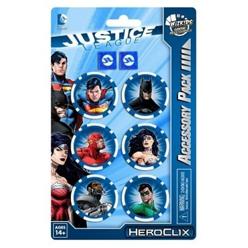 HeroClix: DCHC Justice League Trinity War Dice and Token Pack