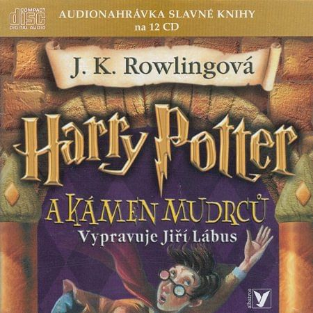 Harry potter a Kámen mudrců - audiokniha (12 CD)