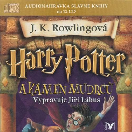 Harry potter a Kámen mudrců - audiokniha (12 CD)