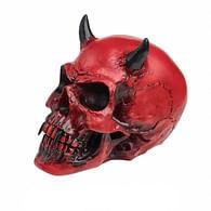 Karmínová lebka démona