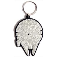 Klíčenka Star Wars - Millennium Falcon, gumová