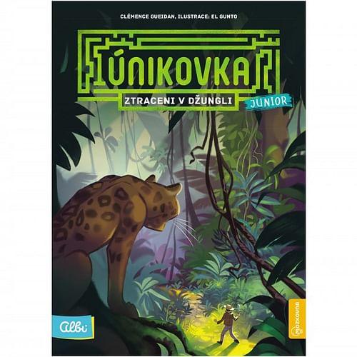 Kniha Únikovka Junior: Ztraceni v džungli