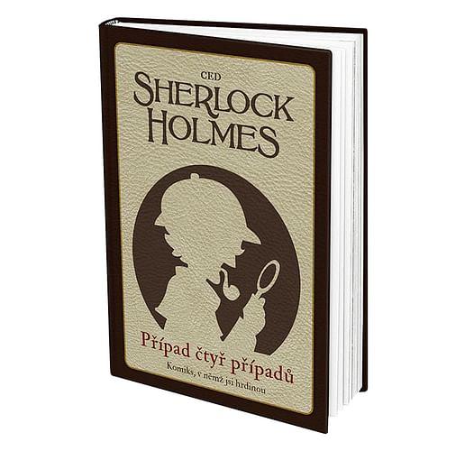 Komiks, v němž jsi hrdinou: Sherlock Holmes - Případ čtyř případů