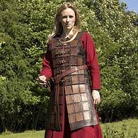 Kožená brigandina, dámská