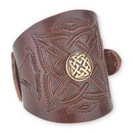 Kožený náramek Kelt