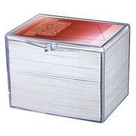 Krabička na karty pro 150 ks - průhledná, vyklápěcí (Ultra Pro)
