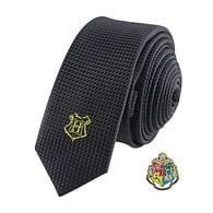 Kravata Harry Potter s odznakem - Bradavice