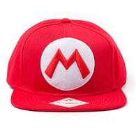 Kšiltovka Nintendo - Mario Logo