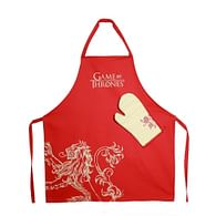 Kuchyňský set Game of Thrones - Lannister, zástěra a chňapka
