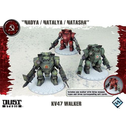 Dust Tactics: KV47 Walker
