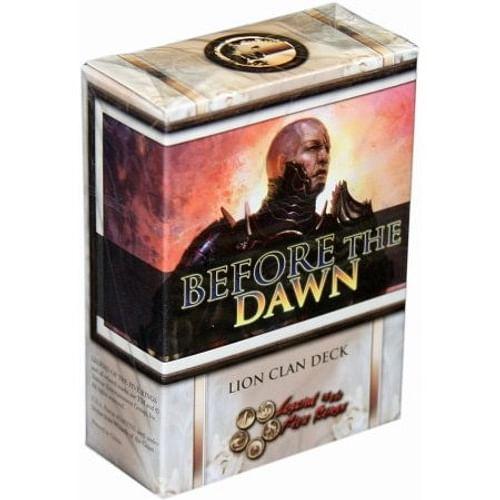 L5R: Before the Dawn - Lion Clan Deck
