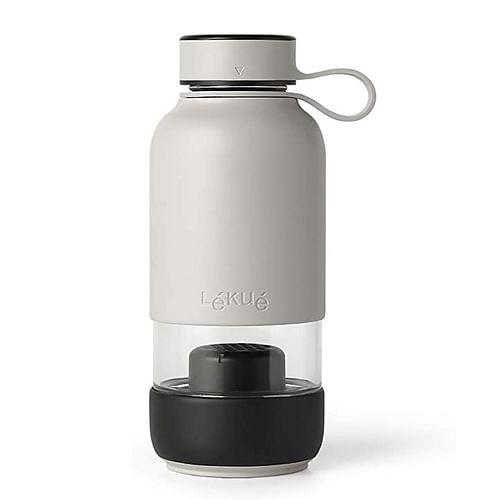 Láhev na vodu Lékué s uhlíkovým filtrem 600ml