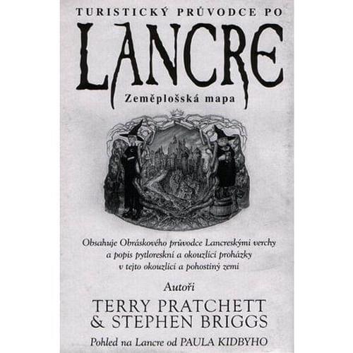 Turistický průvodce po Lancre - Zeměplošská mapa
