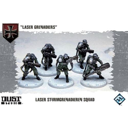 Dust Tactics: Laser Grenadiers