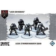 Dust Tactics: Laser Grenadiers