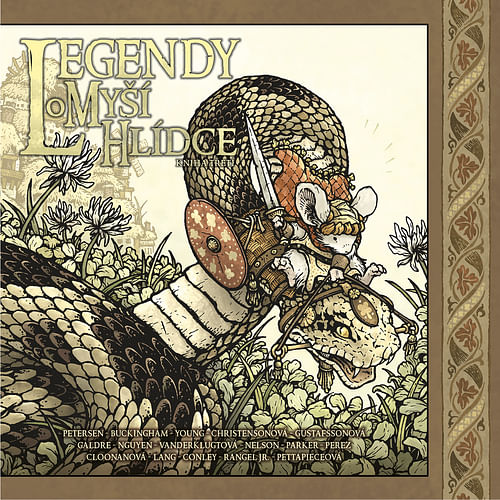 Legendy o Myší hlídce: Kniha třetí