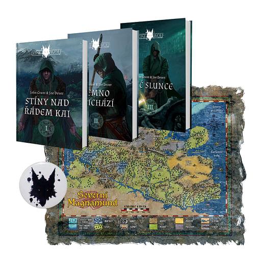 Legendy o Osamělém vlkovi - komplet 3 knih