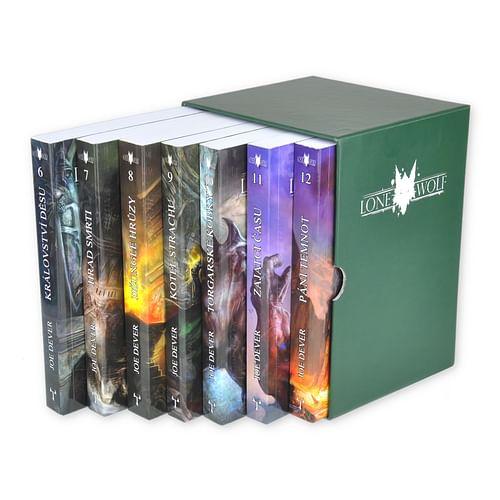 Lone Wolf: Cyklus Magnakai - komplet 7 knih