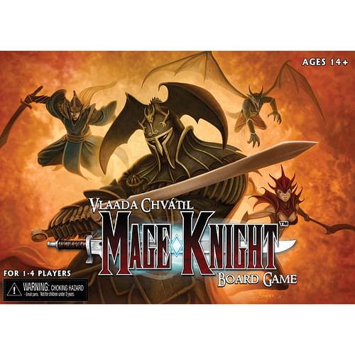 Mage Knight (anglicky)