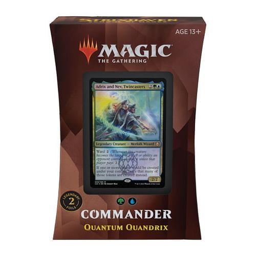 Magic: The Gathering - Strixhaven: Quantum Quandrix Commander Deck