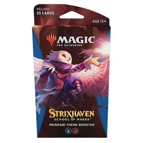 Magic: The Gathering - Strixhaven: School of Mages Prismari Theme Booster