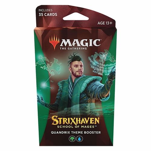 Magic: The Gathering - Strixhaven: School of Mages Qunadrix Theme Booster