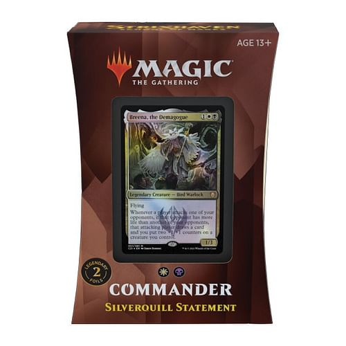 Magic: The Gathering - Strixhaven: Silverquill Statement Commander Deck