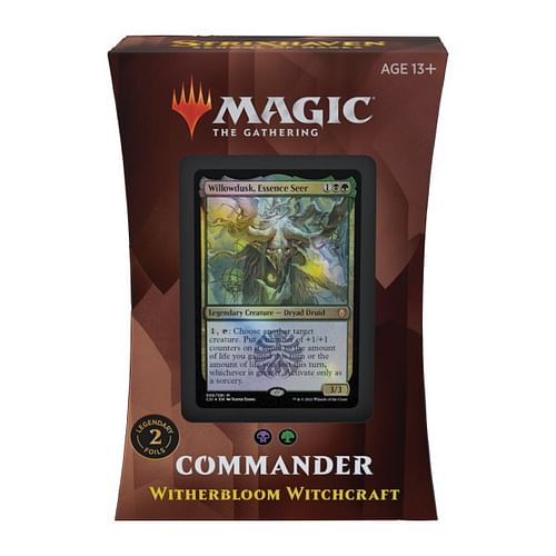 Magic: The Gathering - Strixhaven: Witherbloom Witchcraft Commander Deck