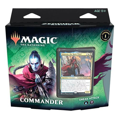 Magic: The Gathering - Zendikar Rising Sneak Attack Commander Deck