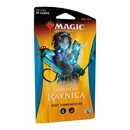 Magic: The Gathering - Guilds Of Ravnica Izzet Theme Booster