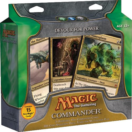 Magic: The Gathering - Commander Deck: Devour for Power
