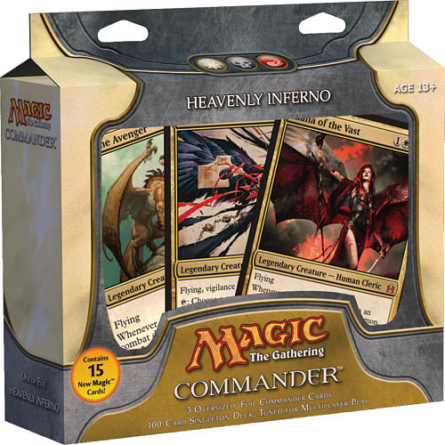 Magic: The Gathering - Commander Deck: Heavenly Inferno