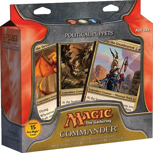 Magic: The Gathering - Commander Deck: Political Puppets