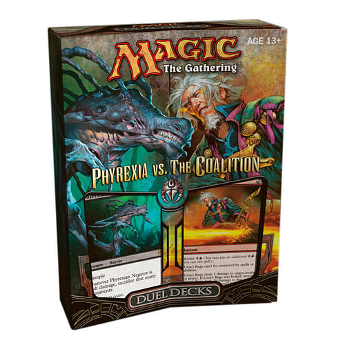 Magic: The Gathering - Phyrexia Vs. Coalition Duel Deck